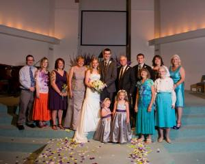 wedding pic - fam