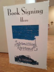 book sign - 2nd book