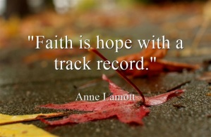 Faith - hope - track record