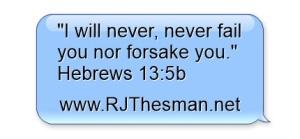 Hebrews 13-5b