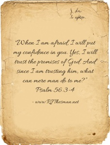 Psalm 56-3-4