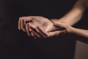 hands - palms outstretched