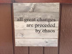 change - chaos