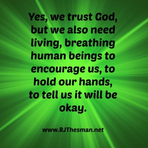 Yes - we trust God