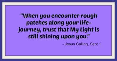 Jesus Calling - Sept 1