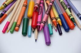 crayons - pens