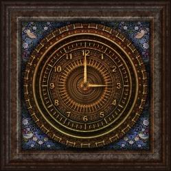 clock - Victorian