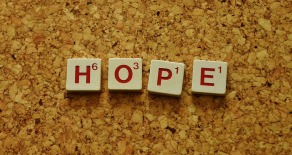 hope - scrabble letters