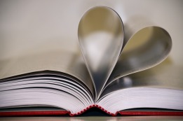 book with heart