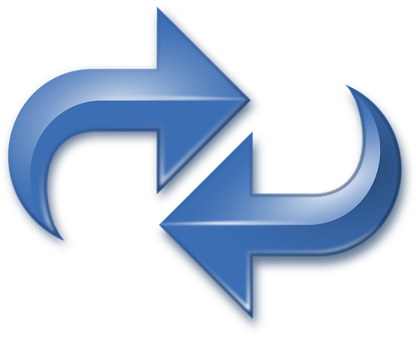 blue arrows reversed